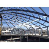Buy cheap Coal Storage Bunker Domes Roofing Structures for Cement Lignite Clinker Gypsum from wholesalers