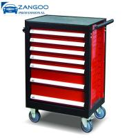 Best Steel Roller Tool Box 7 Drawer Mobile Powder Coating With Wheels wholesale