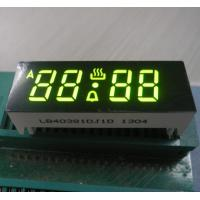 Buy cheap OEM Low Power 7 Segment Display Green Color , 0.38 Inch Common Anode 7 Segment from wholesalers