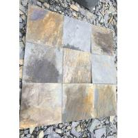 Buy cheap Natural slate culture stone sawn cut split China 30x30cm 40x25cm 60x25cm from wholesalers