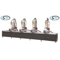 Best Four Head Aluminum Window Hole Drilling Machine / Multi Mitre Combination Drilling Machine wholesale