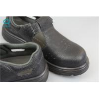 Best Industrial ESD Safety Shoes with Steel Toe Mens , Black Color wholesale