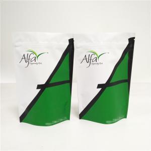 China 250g Custom Printed Plastic Ziplock Food Bag Cooked Rice Packaging With Window on sale