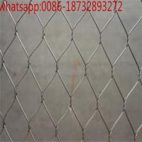 Best X-Tend Stainless Steel Wire Rope Mesh /90 angle 50*50mm stainless steel 304 wire mesh rope/Zoo Rope Mesh wholesale