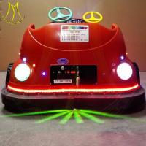China Hansel amuserment remote control indoor amusement mini bumper car rides on sale