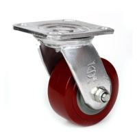 "Best 5""  heavy duty PU caster wholesale"