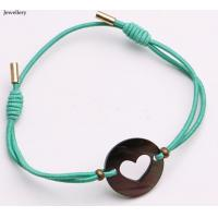 Best watches ladies women matching mint rope and MOP sales promotion bracelet, charm fine gold emoji jewelry accessory elasti wholesale