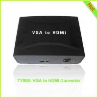 TY908: VGA to HDMI Converter (with audio)