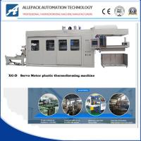 Best XG-D Automatic Vacuum Forming Machine For Plastic Disposable Trays Box Cover Lids wholesale