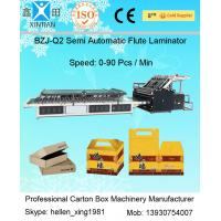Best Paper Feeding Carton Box Making Machine Automatic Flute Laminator 7kw wholesale