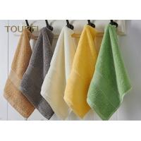 Best Embroidery Hotel Face Towel Bright Color 100% Cotton Face Flannels wholesale