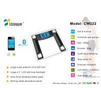 Best CW222B High Accuracy Digital Bathroom Scale with Bluetooth Connection wholesale