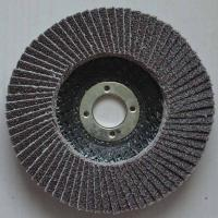 China High temperature fused Aluminum Oxide Abrasive Flap Discs Conical For Angle Grinders Fiber on sale