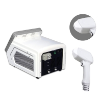 Best Portable Big spot size 3 wave length 755nm 808nm 1064nm diode laser for Hair Removal beauty device LF-646A wholesale