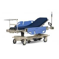 China Long Life Hospital Patient Emergency Stretcher Trolley Blue / Orange Color on sale
