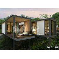 Best Weather Resistance Modern Modular Homes , Contemporary Prefabricated Homes wholesale