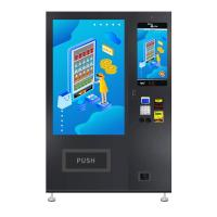 China 22 Inch Touchscreen Snack Food Vending Machines for sale CE Certificated, Micron on sale