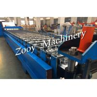 Best Industry Metal Floor Deck Cold Roll Forming Machine With Hydraulic Punching For Roofing wholesale