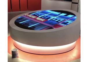 Best IP30 640*1920 Round LED Advertising Player SMD2121 LED Screen Table wholesale