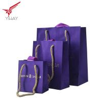 Best Free Sample Custom print gold staming paper gift bag,Nice paper bag for jewelry and gift wholesale