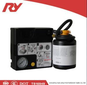 Best High Pressure Car Tire Inflator 12V 450ml Glue High Accurate Digital Pressure Control wholesale