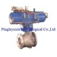 China Pressure equalizing ball valve on sale
