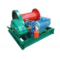 China 1 Ton Small Capacity Steel Factory Using Lifting Electric Motor Winch on sale