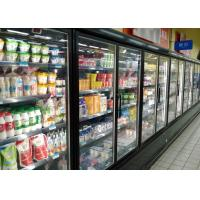 China Superstore Cold Chain Multideck Display Fridge For Fresh Meat And Sausages on sale