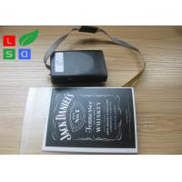 Best DC 5V Rechargeable EL Light Panel Lithium Battery Powered For Commercial Center wholesale