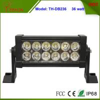 Best 7.5 inch Low Profile 36W LED Light Bar for Trucks, Double Row Light Bar in classic style wholesale