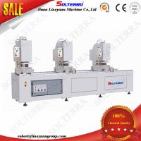 UPVC Windows Three Head Seamless Welding Machines SHZ3C-120x3500