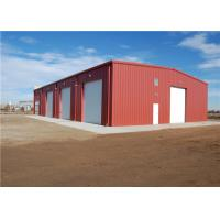 Cheap Custom Made Prefab Metal Storage Buildings , Metal Frame Storage Sheds Anti Seismic for sale