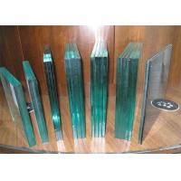 China Bullet Proof Laminated Security Glass / Clear Laminated GlassFor Bank on sale