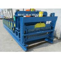 Best Roof Tile Roll Forming Machine Double Deck Various Profile Corrugated and Glazed wholesale
