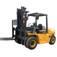 Best Automatic Port Forklifts 7 Ton ISUZU Engine Yellow Color Turning Radius 2240mm wholesale