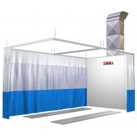 China Small Infrared Paint Spray Booth Prep Stations , Car Painting Preparation Station on sale