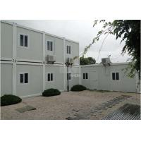 Best Sandwich Panels Structure Flat Pack Container House With Heat Insulation Design wholesale