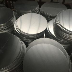 Best Utensil Aluminium Round Discs / Circular Aluminum Plate Smooth Finish Surface wholesale