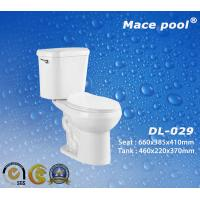China Sanitary Wares Two-Piece Toilets for Bathroom Accessoires (DL-029) on sale