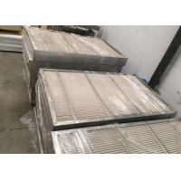 Best Custom Fabricated PP Vane Pack Mist Elimiantor With Stainless Steel Frame wholesale