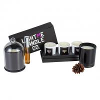 China Pillar Shape Diffuser Candle Set / Scented Home Fragrance Gift Set Custom Size on sale