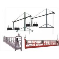 Best Hot galvanization Electric Suspended Access Equipment 2kw with 6m , 7.5m wholesale