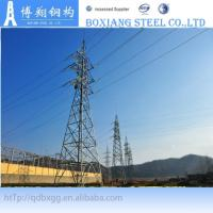 Best 132kv steel power transmission line tower wholesale
