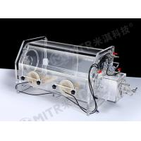 China Lab Vacuum Acrylic Glove Box With Limiting Vacuum Degree To -0.1MPA on sale