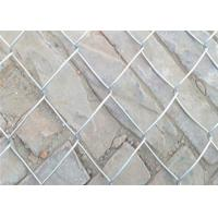China 6' x 8' Size Temporary Chain Link Mesh Fence Removable For Construction on sale