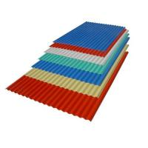 China PVC corrugated roof sheet on sale