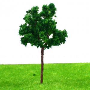 Best 7cm Plastic Miniature Model Trees , Scenery Landscape Train Model Trees Scale 1:100 G7035 wholesale