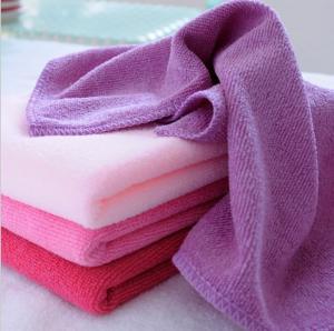China 30 * 70cm absorbent microfiber towel Anti Shrink Soft Microfiber Hand Towel Face Towel on sale
