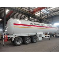 Best 2019s new best price 49.6cbm LPG gas semitrailer for sale, factory sale cheapest price 20tons road transported lpg tank wholesale