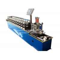 China Garage Rolling Shutter Door Frame Roll Forming Machine 1.0'' Chain Driven Type on sale